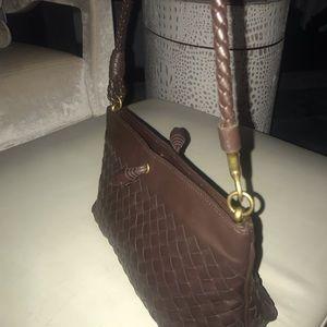 NWOT Bottega Veneta small shoulder bag,Brown